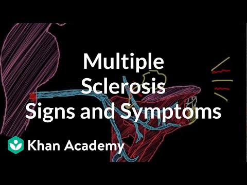 Multiple sclerosis signs and symptoms | Nervous system diseases | NCLEX-RN | Khan Academy