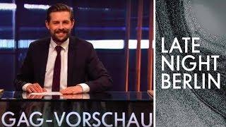 Xavier Naidoo und die Earth Hour   Gag-Vorschau   Late Night Berlin   ProSieben