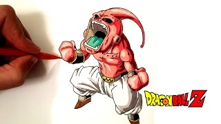 DESSIN MAJIN BUU - DRAGON BALL Z