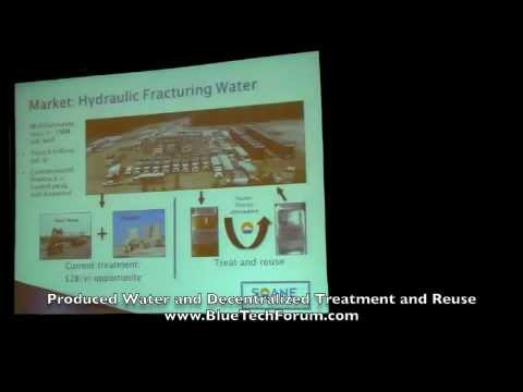 BlueTech Forum 2011 - Hot Tech Area - Produced Water and Decentralized Treatment and Reuse