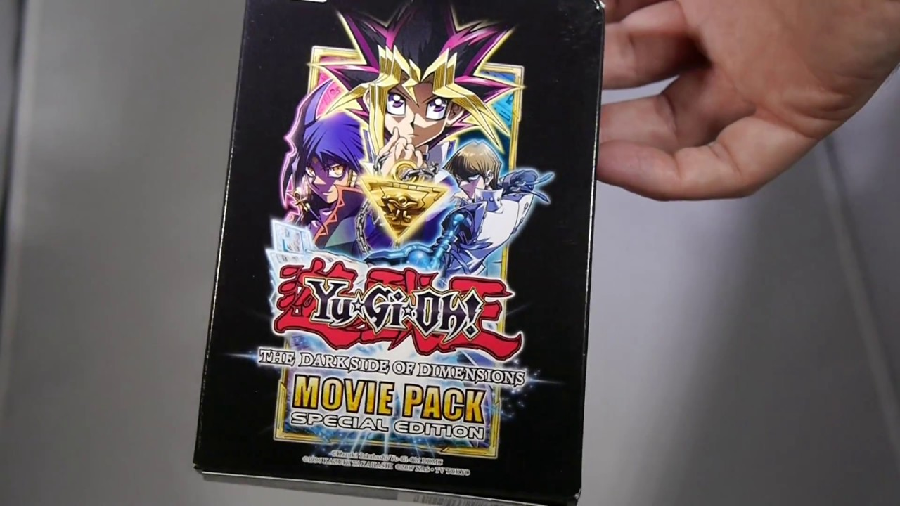 Yu Gi Oh The Dark Side of Dimensions Movie Pack Special Edition