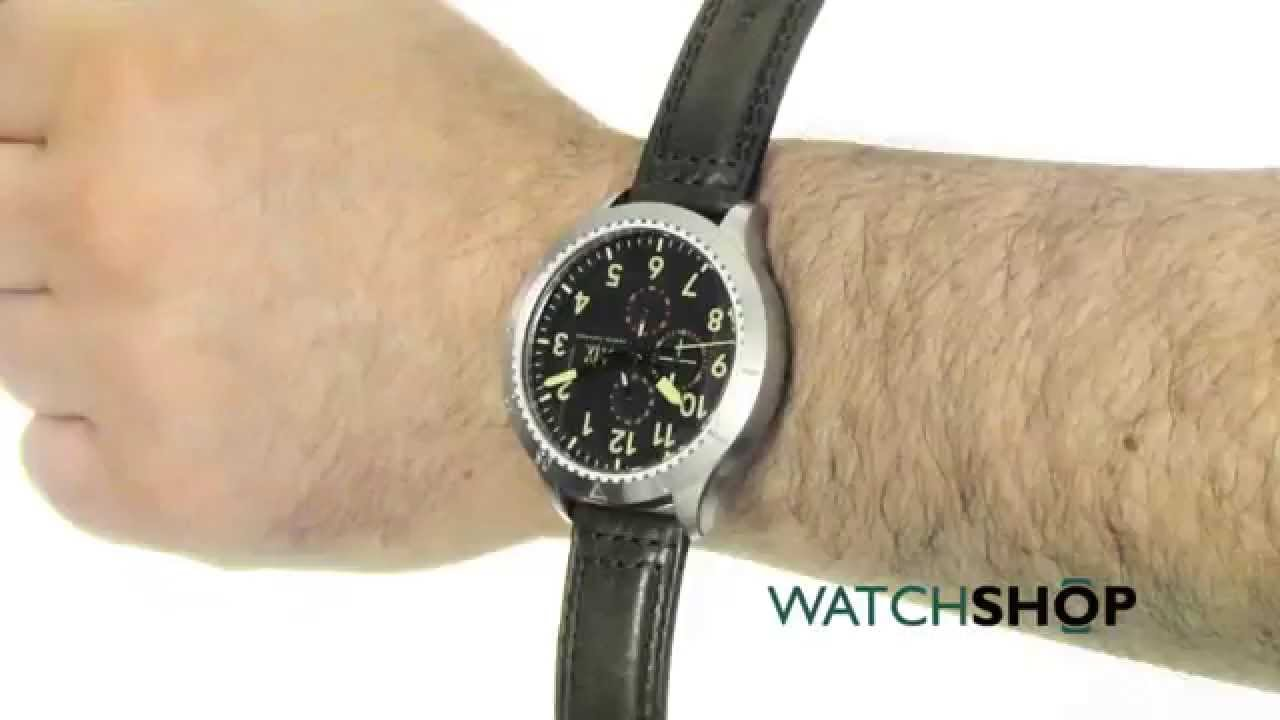 c88302cca20 Armani Exchange Men s Aeroracer Chronograph Watch (AX1755) - YouTube