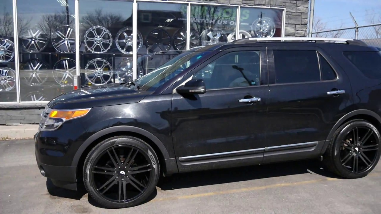 2011 ford explorer with 22 inch custom rims tires youtube 2011 ford explorer with 22 inch custom rims tires publicscrutiny Images