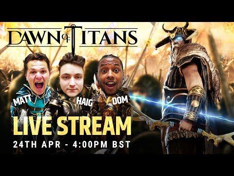 DAWN OF TITANS LIVE | ALLFATHER RETURNS