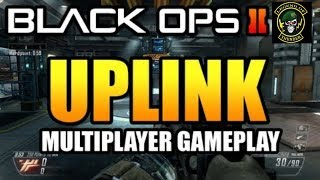 """UPLINK"" Gameplay - Black Ops 2 SCAR-H Multiplayer - New VENGEANCE Map Pack 3 DLC COD BO2!"