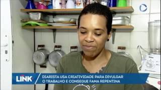 Diarista divulga anúncios criativos para conseguir emprego