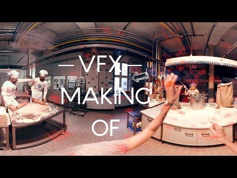 Bahlsen VFX Making of 360-Grad-Video