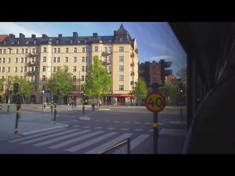Sweden, Stockholm, FREE bus ride from Stockholm City to IKEA