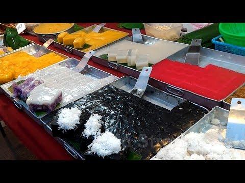 Street Food Thai Traditional Desserts 🍮❤️🙏😊