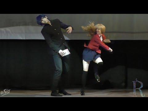 UFEST 2018. Red Cappy, Sintaro (Набережные Челны, Казань): Toradora! - Taiga Aisaka, Ryuuji Takasu