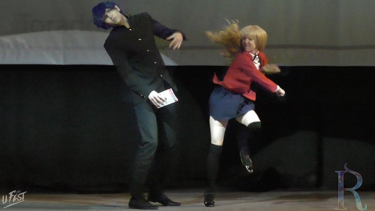 UFEST 2018. Red Cappy, Sintaro (Набережные Челны, Казань): Toradora! – Taiga Aisaka, Ryuuji Takasu