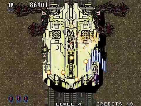 Aero Fighters 2 (Sonic Wings 2) - Neo Geo / Walkthrough /Gameplay