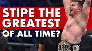 Is Stipe Miocic The Greatest Heavyweight