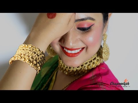 Step by step DIY | Beautiful Handmade Crochet Jewellery Golden Bracelet | – Episode 69