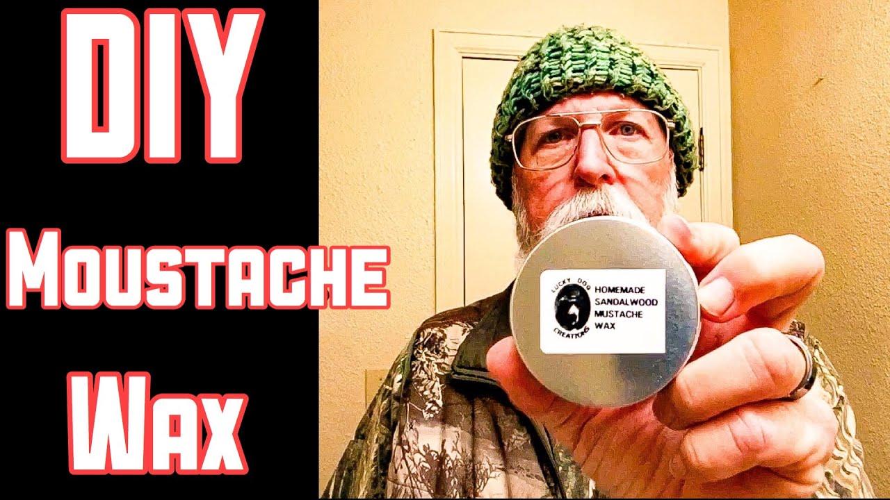 DIY Moustache Wax with Rec͏i͏pe 2020