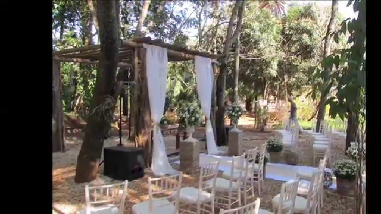 Casamento Rústico  Camila Alves Decorações  Agosto2014  YouTube