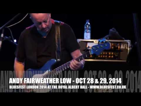 Andy Fairweather Low plays live - catch him at BluesFest 2014