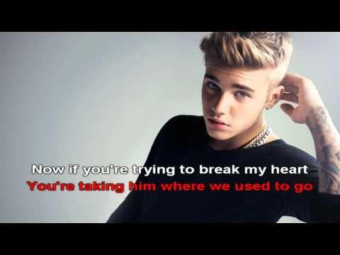That Should Be Me | Justin Bieber | Lyric Karaoke