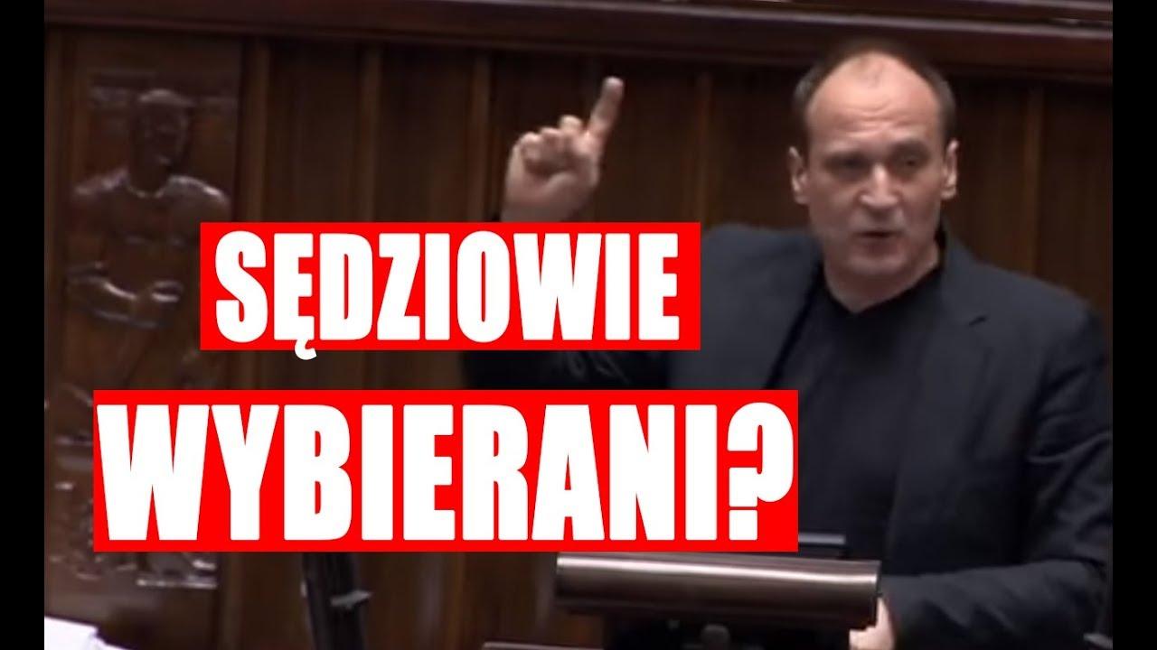 Paweł Kukiz: sędziowie KRS powinni być wybierani w wyborach powszechnych!