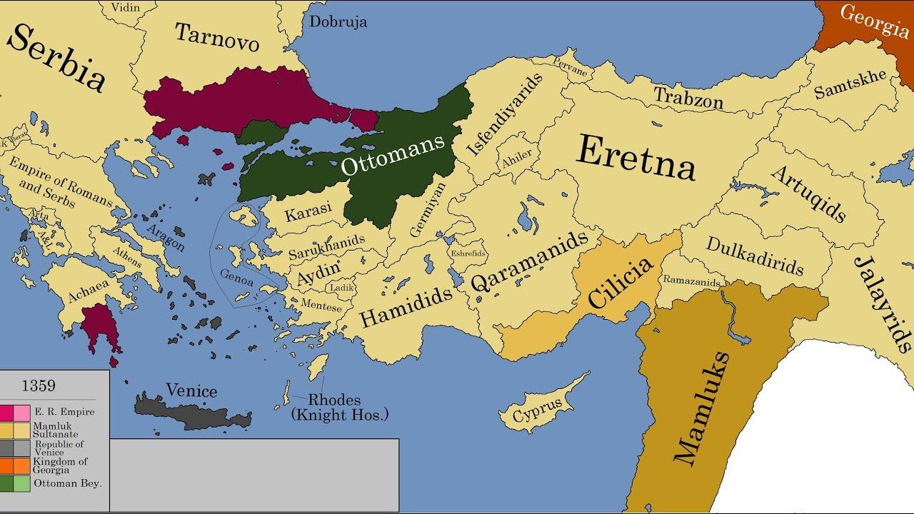 The History Of Anatolia Every Year Youtube