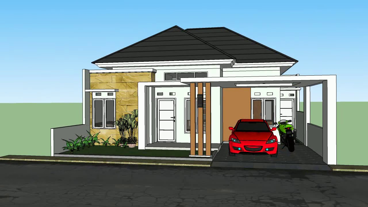 Minimalist House 10 X 12 Land Area With 3 Bedrooms