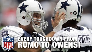 Every Tony Romo to Terrell Owens Touchdown Pass | Tony Romo Retires | NFL Highlights
