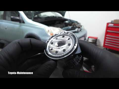 Toyota Echo Engine Oil and Filter change