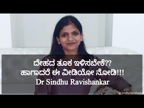 Weight loss tips in Kannada – My Weight loss Journey- Dr Sindhu Ravishankar(Kannada)