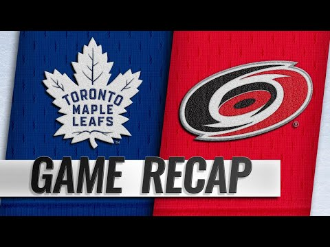 Marleau, Tavares power Leafs to 4-1 win against Canes