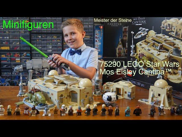 Minifiguren der Mos Eisley Cantina™, LEGO 75290, Meister der Steine