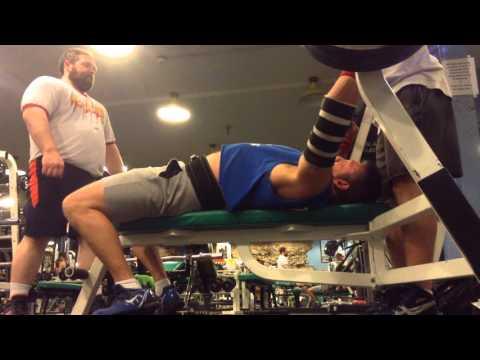 Mark Mcentee 405 lb. Bench Press @ 200 lb. bw - DAY BEFORE SURGERY!