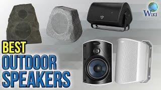 10 Best Outdoor Speakers 2017