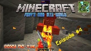 Minecraft - Foxy's Mod Mix [4] - Stumbling Across a Massive Cave