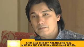 Celebs share good effects of stem cell therapy