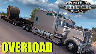 OVERSIZE LOAD CABLE REEL - America truck Simulation