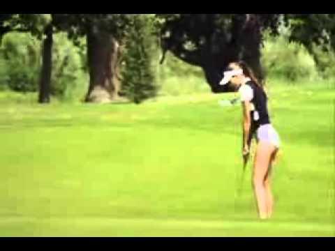 Sexy Girls Golfing