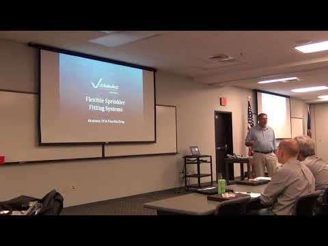 Victaulic Flexable Drop Training, Fire Protection Kansas City David Cook CPE, Part 1 of 3