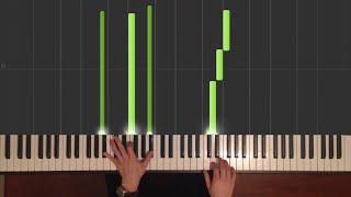 Download Gravity Falls - Theme song - Easy Piano tutorial - How to Play (Synthesia) Mp3 and Videos