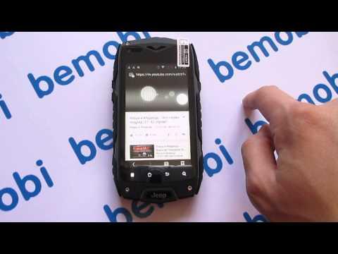Видео обзор защищенного смартфона Jeep Z6
