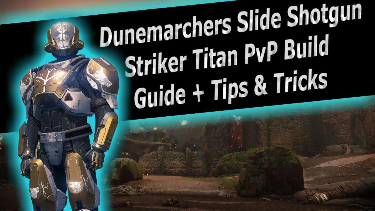 Destiny 2 - Striker Titan Slide Shotty Flawless Trials PvP Build Guide