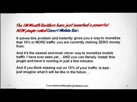Covert Mobile Bar Real Covert Mobile Bar Software