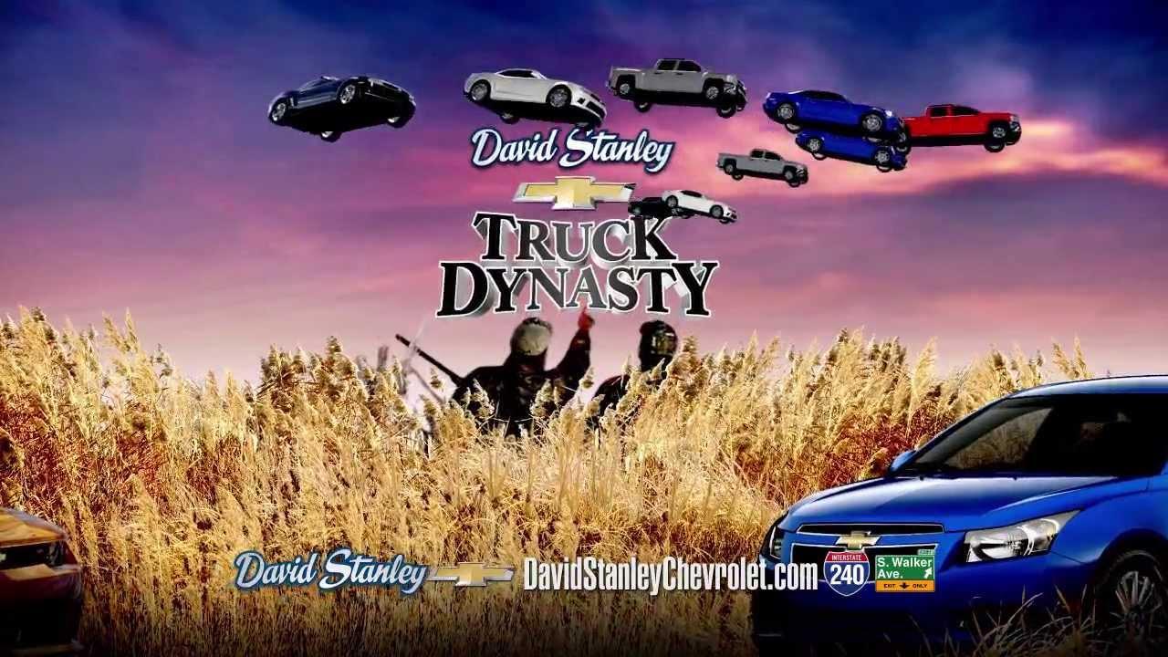 David Stanley Chevrolet Norman >> RadioVision, creative TV campaigns for David Stanley Chevrolet Oklahoma City / Norman OK - YouTube