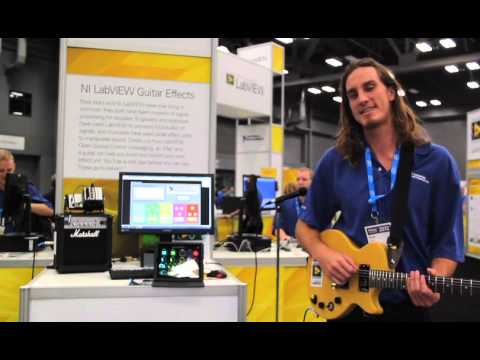 Guitar Effects using  the NI CompactRIO and LabVIEW FPGA