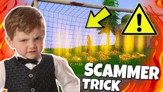 ACHTUNG!! einfachster Scammer TRICK !!! ( Scammer wurde gescammt ) PRANK - Fortnite Rette die Welt