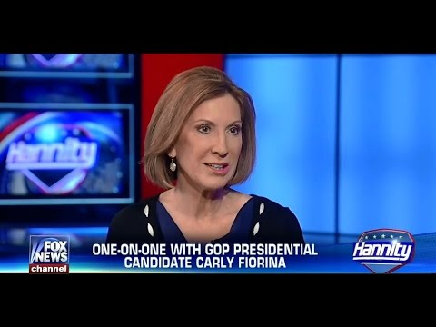• Carly Fiorina • One On One • Hannity • 6/25/15 •
