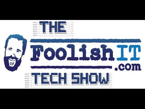 Foolish Tech Show (Apple Discussion and Other Recent News)