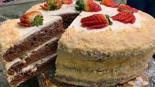 Пеку праздничный торт для сына Cake Տորթ