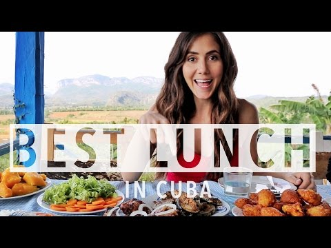 Best Lunch in Vinales, Cuba