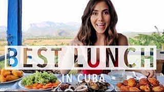 Best Lunch in Vinales, Cuba