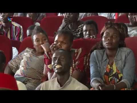 Comedian Feel Free performing live in Juba South Sudan